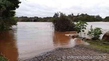 Após chegar a 17,56m, Rio Taquari começa a baixar em Estrela - independente