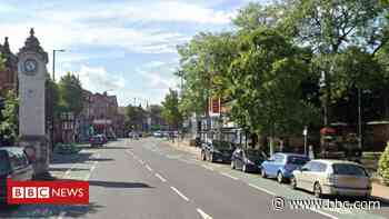 Man dies after being hit by cyclist crossing the road in Didsbury - BBC News