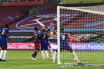 West Ham 1-1 Chelsea LIVE! Latest score, goal updates, team news, TV and Premier League match stream today