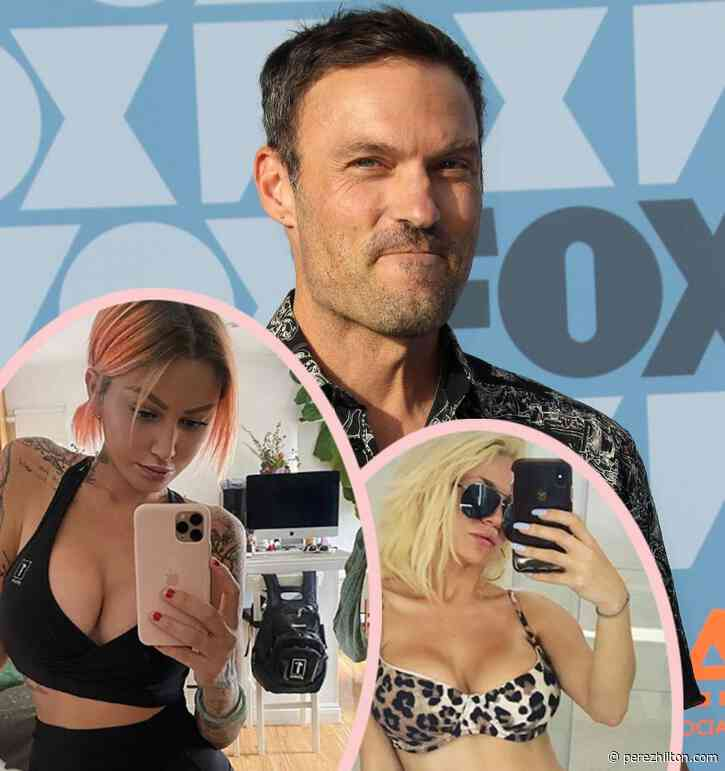 Brian Austin Green Grabs Lunch With Model Tina Louise — And Courtney Stodden Reacts With Steamy Video!