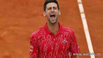 Tennis: Auch Novak Djokovic positiv auf Coronavirus getestet - watson