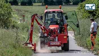 Neuer Traktor für Bauhof der Gemeinde Nessetal - Thüringische Landeszeitung