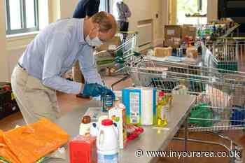 Prince Edward helps out at Godalming's Trolley Tuesday - In Your Area