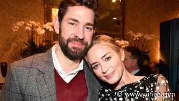 5 of Emily Blunt and John Krasinski's Cutest Couple Moments - Yahoo Lifestyle