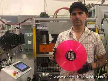 Clampdown Record Pressing Inc. pitches Tinder for bands - Goderich Signal Star
