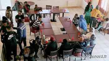 Le centre d'accueil pour réfugiés et migrants à Somain, bientôt deux ans de solidarité - La Voix du Nord