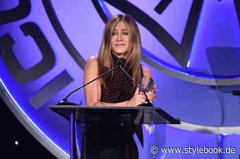 Jennifer Aniston: »Ich konnte Rachel Green nicht loswerden - STYLEBOOK