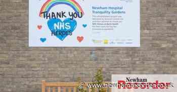 Newham Hospital gardens revamp in coronavirus deaths tribute - Newham Recorder