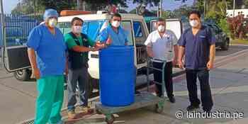 Empresa azucarera realiza donaciones para combatir al coronavirus en el valle Chicama - La Industria.pe