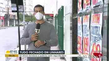 Supermercados de Linhares, ES, estão proibidos de abrir às segundas - G1
