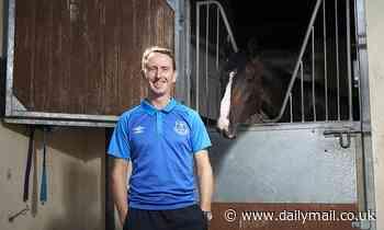 Jockey Martin Dwyer is a huge Everton fan who's desperate to win Saturday's Derby