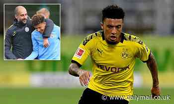 Pep Guardiola writes off Sancho return after Borussia Dortmund star linked with Premier League move