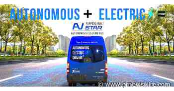 Fully Autonomous GreenPower EV Star Being Developed with Perrone Robotics for Jacksonville Transportation Authority - PRNewswire