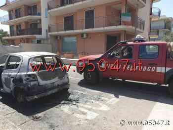 MISTERBIANCO: AUTO IN FIAMME IN VIA BARONE, FORSE DOLO - 95047