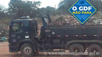 GDF Presente recolhe 120 toneladas de lixo em Sobradinho II - Agência Brasília