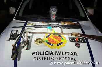 PMDF apreende armas e armadilhas de caça em Sobradinho - Pelo Mundo DF