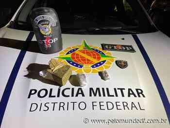 PMDF apreende drogas em acampamento próximo a Sobradinho - Pelo Mundo DF