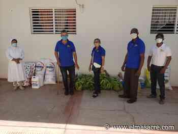 DOMICOOP hace donación de alimentos al Asilo de Ancianos de Dajabón - El Masacre