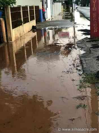 Aguaceros y vientos provocaron daños en algunos lugares de la provincia Dajabón - El Masacre