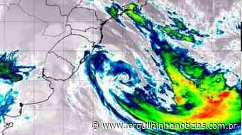 Ainda ativo, ciclone extratropical se afasta em direção ao Oceano Atlântico - Forquilhinha Notícias