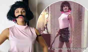 Kate Beckinsale recreates Queen's I Want To Break Free video for Pride - Daily Mail