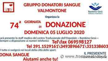 Valmontone, 74^ giornata di donazione in collaborazione dell'ospedale pediatrico bambino Gesù - FrosinoneToday