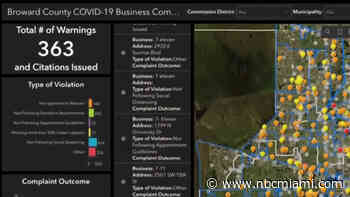 New Dashboard Shows COVID-Related Complaints for Broward County Businesses