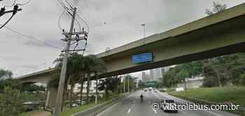 Protesto bloqueia ponte na Marginal e a Avenida dos Bandeirantes nesta quarta (1º) - Via Trolebus