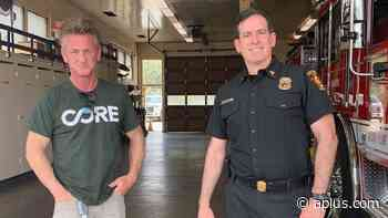 Sean Penn's Non-Profit Steps In For Firefighters - A Plus