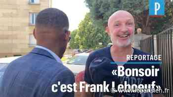 VIDEO. «Bonsoir, c'est Frank Lebœuf !» : candidat à Suresnes, le champion du monde fait du porte-à-porte - Le Parisien