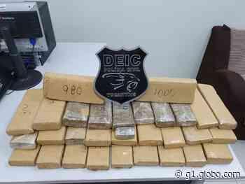 Polícia de Gurupi apreende 30 quilos de drogas com adolescente em ônibus - G1