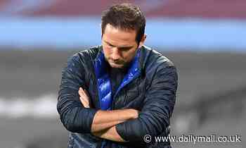 Frank Lampard rages at his Chelsea squad after conceding a 90th minute goal against West Ham