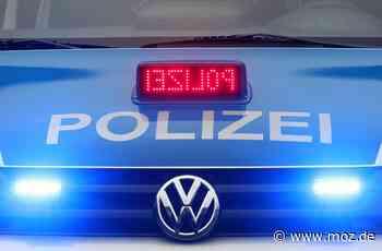 Polizei: Mit erhobenen Mittelfinger - Beamtenbeleidigung in Beelitz - Märkische Onlinezeitung