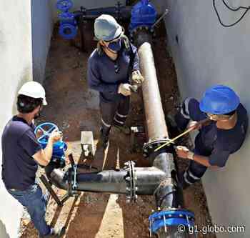 Saae instala válvula reguladora e interrompe abastecimento de água em Sorocaba - G1