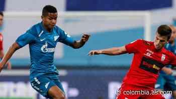 Barrios, presente en victoria del Zenit que se afianza como líder - AS Colombia