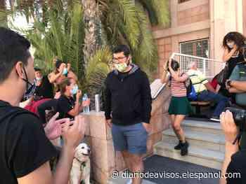 Otra victoria más de los dos activistas de las grúas del hotel de La Tejita: libertad provisional - Diario de Avisos
