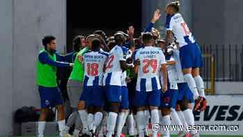 Porto probó con Matheus Uribe en modo más defensivo en otra victoria que lo acerca al título - ESPN