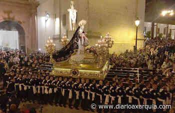 La ONCE se suma al centenario de la Cofradía de las Angustias Coronada de Vélez-Málaga - Diario Axarquía