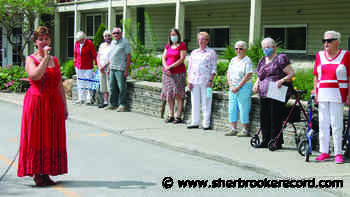 A COVID Canada Day for St. Francis Manor - Sherbrooke Record