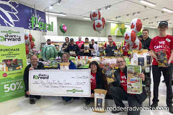 Save-On-Foods stores donate to Red Deer Food Bank - Red Deer Advocate