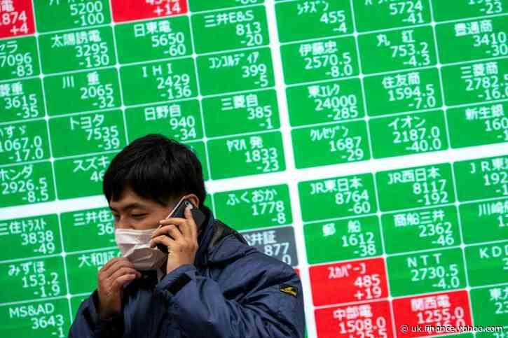 Asian stocks set to track U.S. gains but Hong Kong jitters weigh
