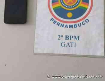 Celular roubado foi recuperado no centro de Carpina - Voz de Pernambuco