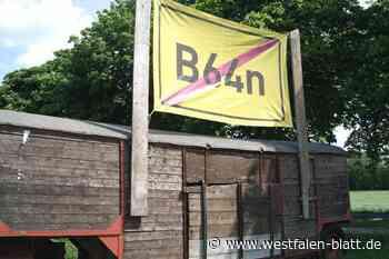 Herzebrock-Clarholz: Landwirte kritisieren immensen Flächenverbrauch: Bauern lehnen B64n derzeit ab - Westfalen-Blatt