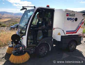 Troina, acquistate due nuove spazzatrici meccaniche per il servizio di igiene urbana - TeleNicosia
