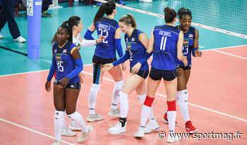 L'équipe de France féminine de volley en stage à Dinard - SPORTMAG