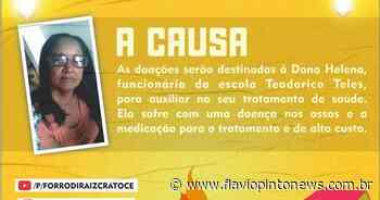 Escola promove live para ajudar funcionária doente em Crato - Flavio Pinto