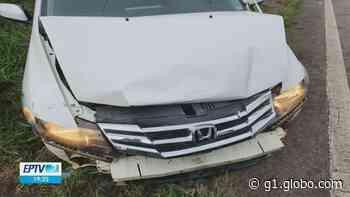 Vereador de Pouso Alegre bate carro em mureta de proteção da rodovia Fernão Dias - G1