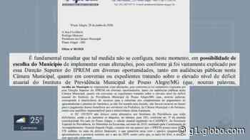 Servidores protestam após projeto aumentar contribuição da aposentadoria em Pouso Alegre, MG - G1