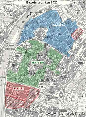 Anwohner-Parkzonen in Trier auf drei reduziert - WochenSpiegel