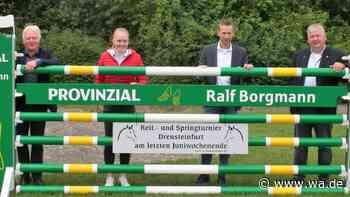 Coronavirus in Drensteinfurt: Trainingstage statt Sommerturnier beim RV Drensteinfurt - Westfälischer Anzeiger